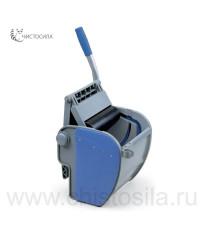 Механический роликовый отжим для плоского мопа синий EUROMOP 7000025.15