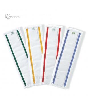 Моп плоский 42х14 см микрофибровый для влажной уборки EUROMOP