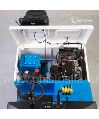 Бензиновая подметальная машина с местом для оператора FIORENTINI UBF 38P