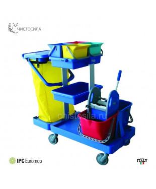 Тележка EUROMOP универсальная пластиковая Antares I