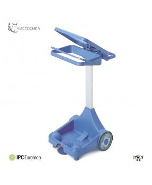 Тележка EUROMOP для мусора пластиковая ALILEO II 120л.