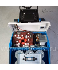Аккумуляторная подметальная машина с местом для оператора FIORENTINI UBF 28 B NEW